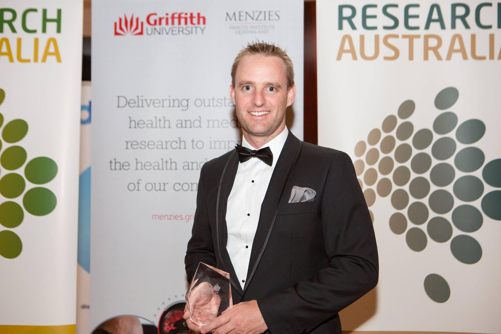 2015 Discovery Award Winner: Dr Andrew Gardner