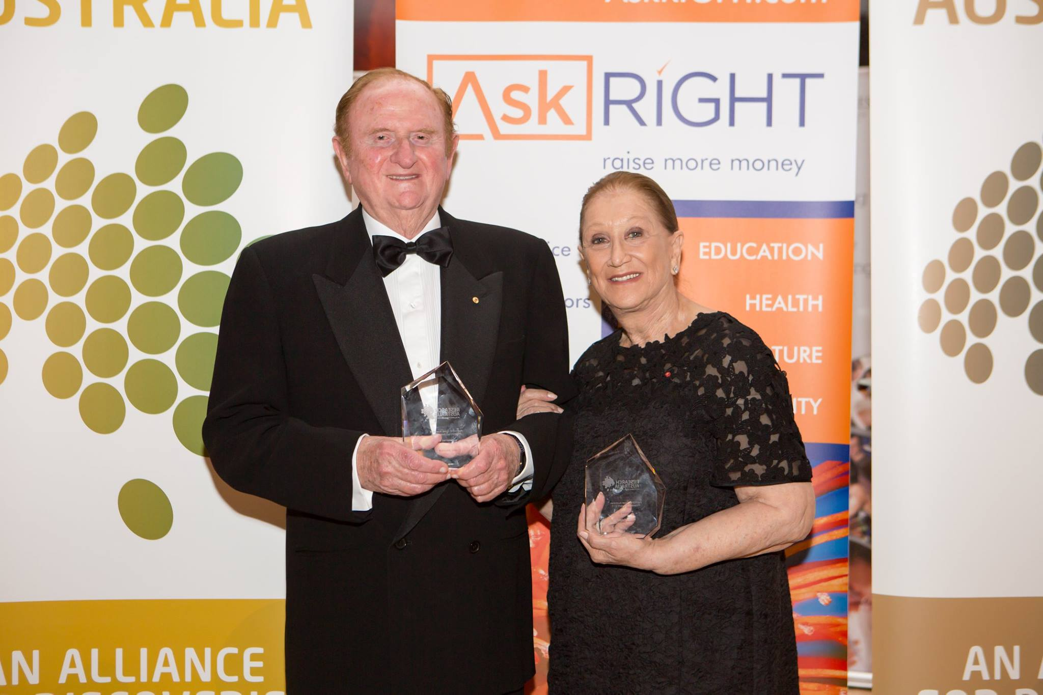 2015 Great Australian Philanthropy Award: Mr John Gandel & Mrs Pauline Gandel