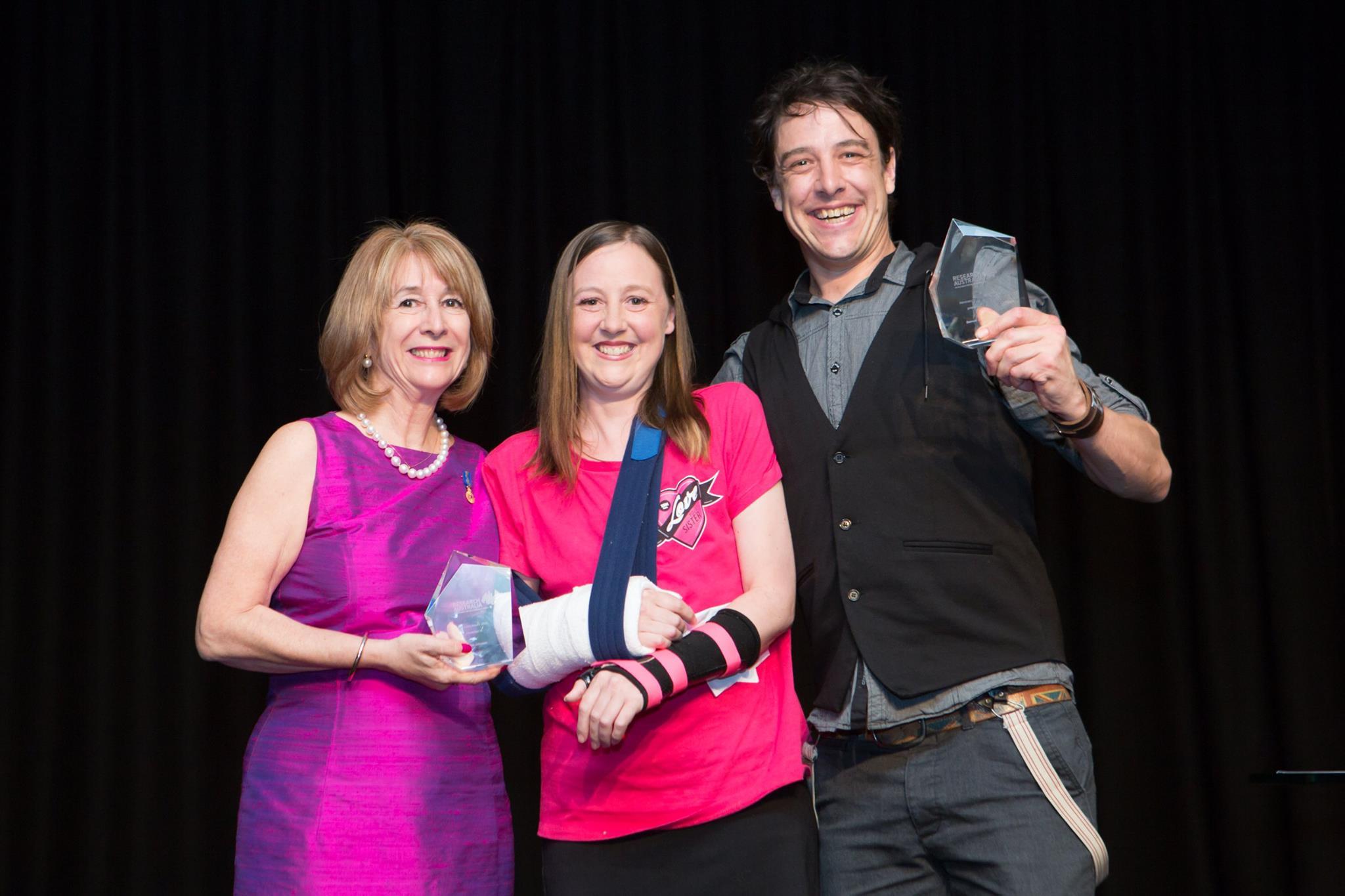 2015 Advocacy Award Winners: Connie and Sam Johnson
