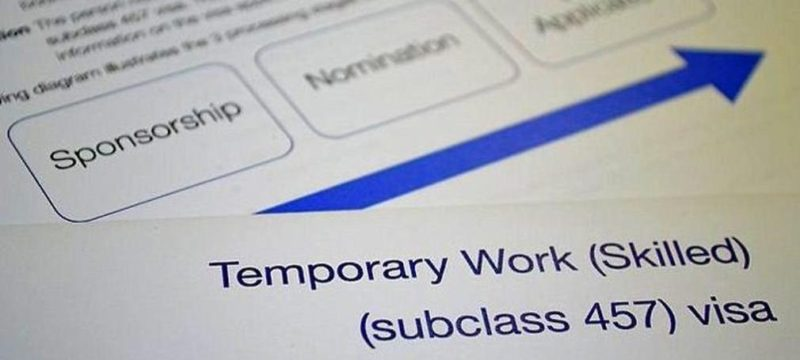 Temporary Work (Skilled) visa subclass 457 scrapped