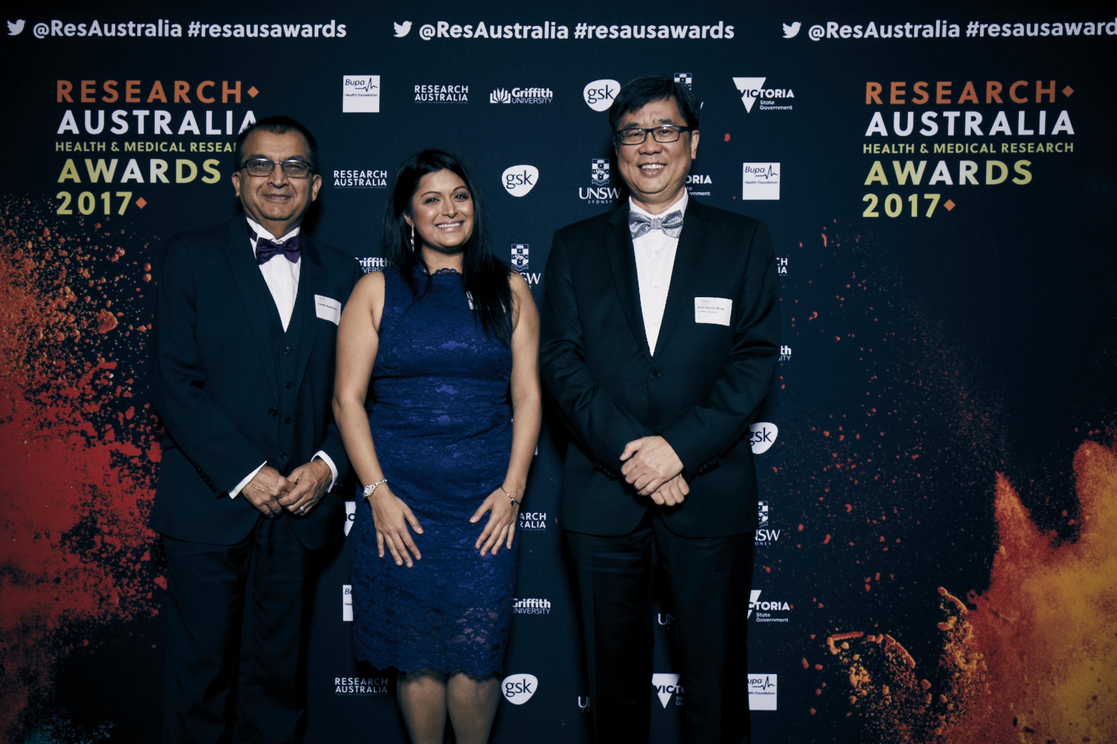 2017 Griffith University Discovery Award Winner: Dr Avnika Ruparelia